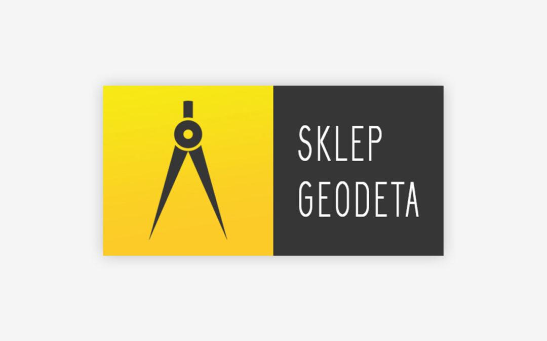 Sklep Geodeta z radością prezentuje nowe logo