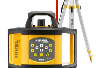 Niwelator laserowy Nivel System NL520 + statyw + łata 2290,00 zł netto