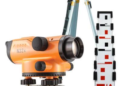 Niwelator Nivel System N32x + łata 5m + statyw 790 zł netto